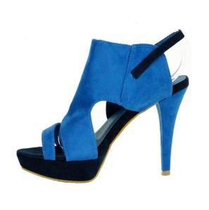 Knöchelhohe Sandale von Stiefelparadies